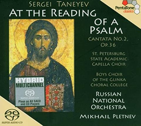 Cantata: At the Reading of a Psalm (Taneyev Symphony 4)