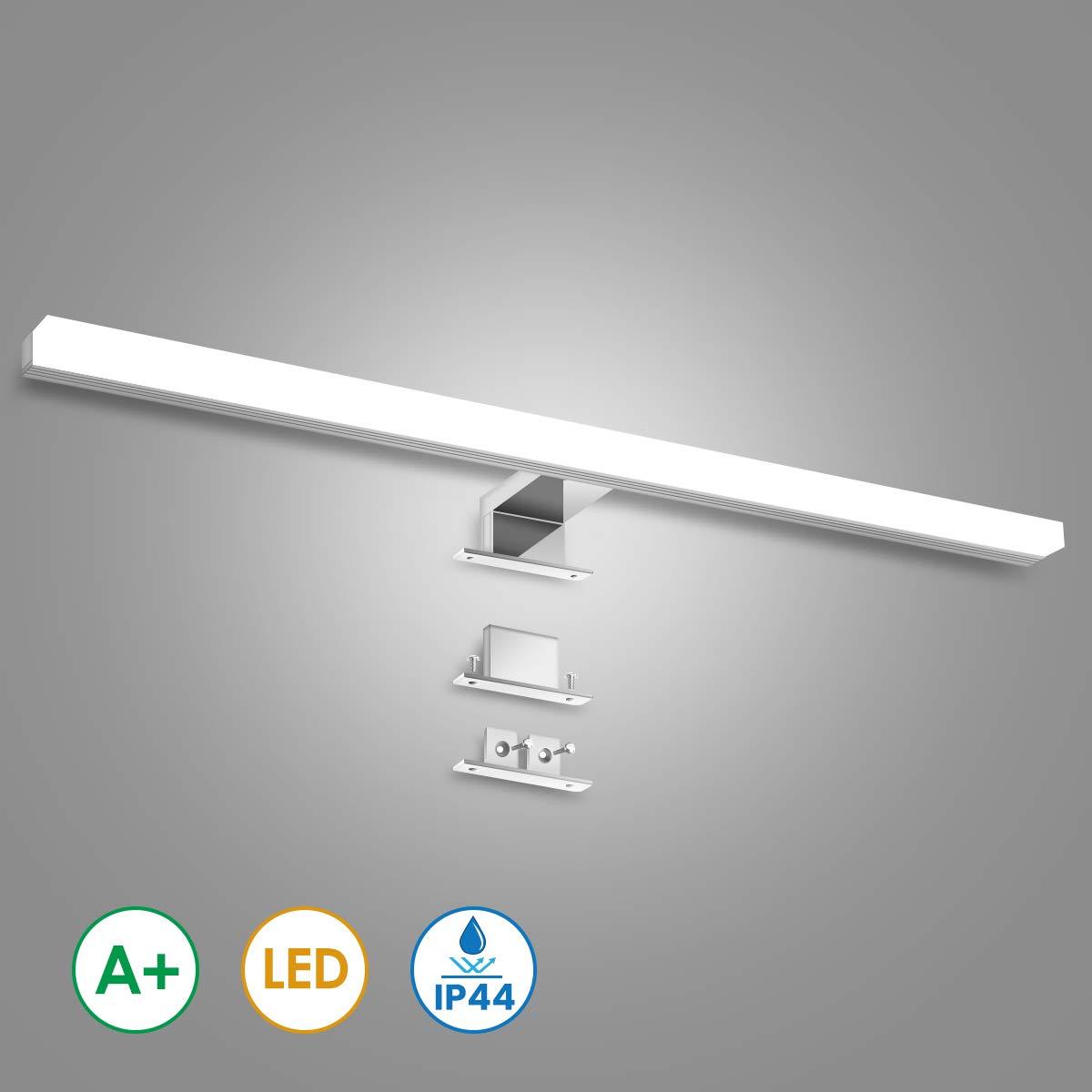 KINGSO LED Spiegelleuchte Badleuchte 12W 60cm IP44 LED Spiegellampe Neutralwei/ß Spiegellicht Badezimmer/Led Schminklicht Schrank-Beleuchtung 4000K 800LM 230V