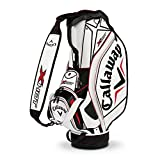 Callaway X Hot Staff Bag, White/Black/Red