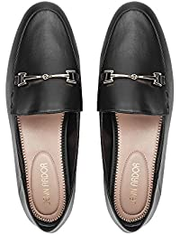 Women's Penny Loafers Slip On Flats Comfort Driving Office Loafer Shoes