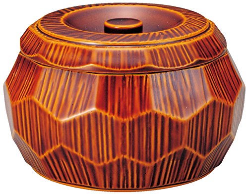 Fukui Craft Chipping Hexagonal Don-Genuine Lacquer Shunkei Coating 3.7 X 5.9 X 5.9 by Fukui Craft