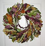 Margarita Fall And Spring Dried Flower Eucalyptus Decorative Wreath 24 inches