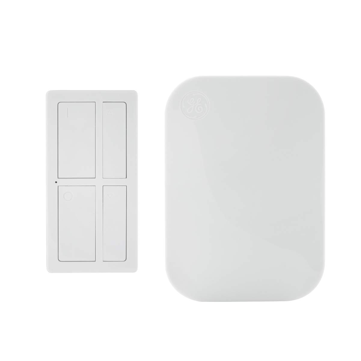 GE mySelectSmart Dimmable Wireless Remote Control Light Switch, On/Off & Full-Range Dimming, 1 Outlet, 150 ft. Range from Plug-In Receiver, Ideal for Lamps & Indoor Lighting, No Wiring Needed, 37781
