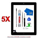 MMOBIEL Digitizer Repair Kit Compatible with iPad 2 () Touchscreen Front Display Assembly Incl Tool kit