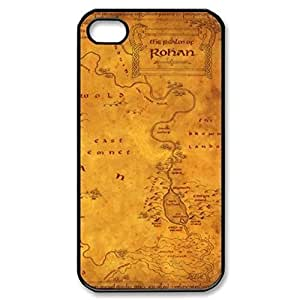 SUUER Map Hobbit Lord Of The Ring LOTR Art Hard CASE for iPhone 5 5s case -Black CASE