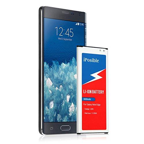 Galaxy Note Edge Battery | iPosible 3000 mAh Li-Ion Battery for the Samsung Galaxy Note Edge [N915 N915U LTE AT&T N915A Verizon N915V Sprint N915P T-Mobile N915T]