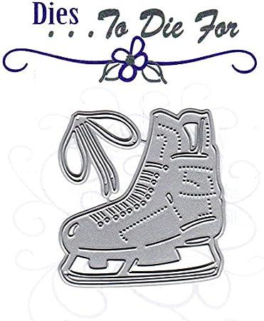 """Cottagecutz Die-ice Skates /& Mittens .9/"""" To 2.3/"""""""