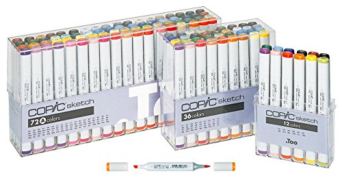 Copic Markers 36-Piece Sketch Basic Set by Copic Marker (Image #3)