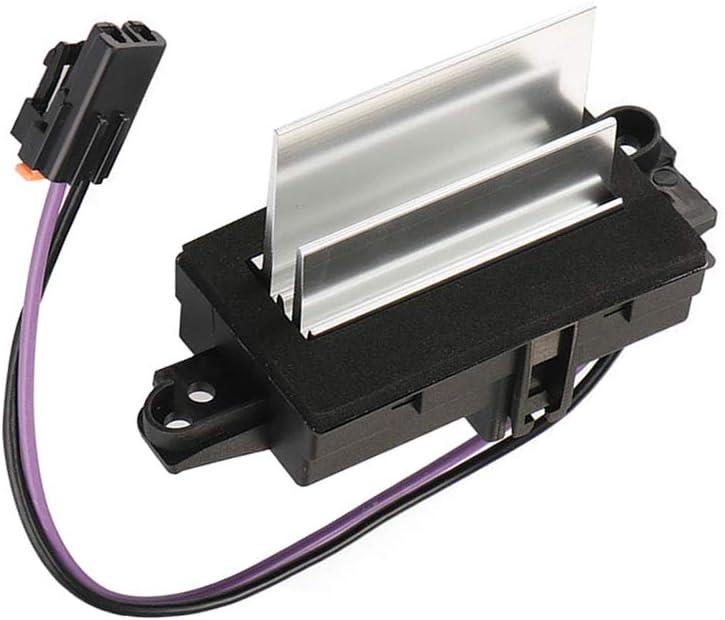 Dade AC Blower Control Module Heater Blower Resistor Fit for Chevrolet Avalanche Silverado Tahoe GMC Sierra 2003-2006 OEM #:1580567, 93803636, 52413530, 89018778, 4P1516
