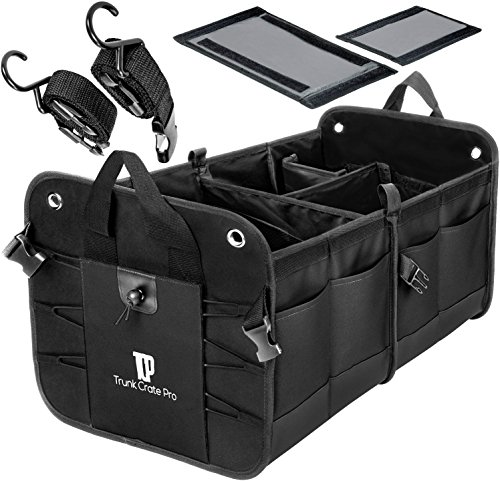 Trunkcratepro Collapsible Portable Compartments Organizer