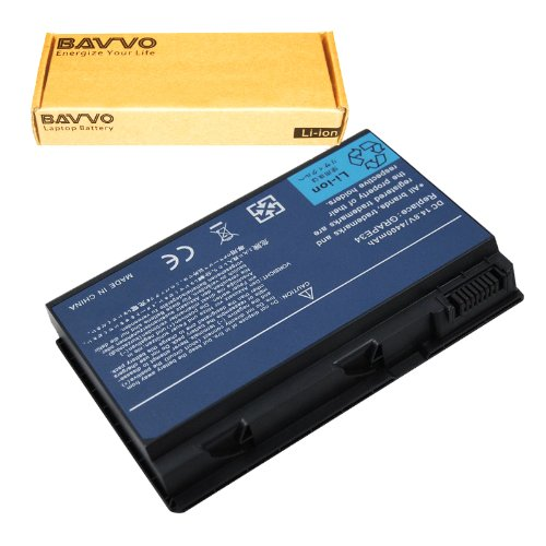 Bavvo 8-Cell Battery Compatible with ACER EXTENSA 5620Z Series