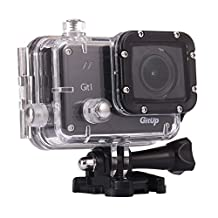 GIT1 Action Camera (Pro Edition), 1080P FullHD | WiFi Functionality | Sony IMX322 Sensor | Diving 30-Meter Underwater Waterproof