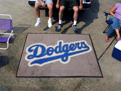 - Fan Mats Los Angeles Dodgers Tailgater Rug, 60