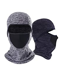 Qinglonglin Balaclava - Cold Weather Face Mask - Windproof Ski Mask Tactical Hood for Men & Women Motorcycling, Snowboarding