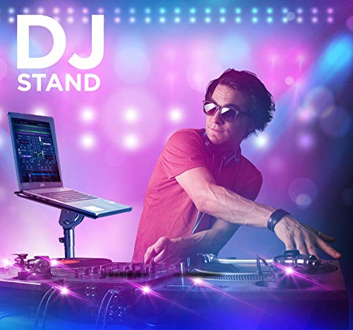 """Professional Adjustable 32.3"""" – 52"""" Laptop DJ Mixer Tripod Stand 