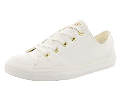 05b2a1b88087a4 Converse Women Chuck Taylor All Star Madison Ox Egret Gold Egret 7 B(