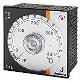 Autonics TAL-B4RK4C Temp Control, 1/4 DIN, Analog, PID Control, Relay Output, K Thermocouple, 400 C, 100-240 VAC