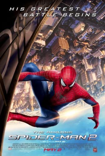 The Amazing Spider Man 2 27 X40 D S Original Movie Poster One Sheet 2014 Andrew Garfield At Amazon S Entertainment Collectibles Store
