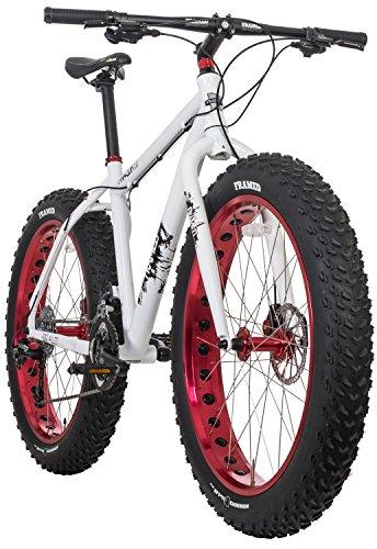 Cheap Framed Minnesota 2.0 Fat Bike White/Red Sz 16″