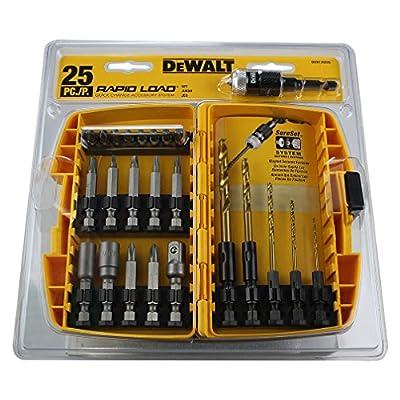 DEWALT DWA13RD25 Dewalt Drill/Driving Screwdriver Set (25-Piece)