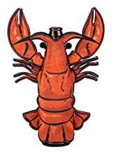 Boston Warehouse 13671 Lobster Beer And Soda Bottle Sleeve