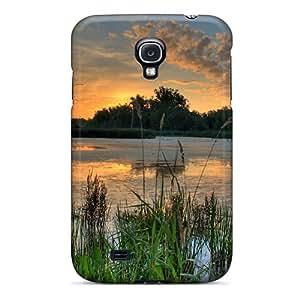 New Arrival Sunrise Over Pond In Minnesota Refuge BatZewx2306HEThU Case Cover/ S4 Galaxy Case