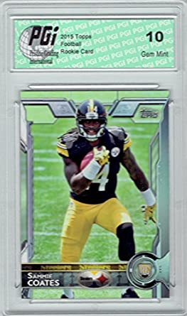 premium selection a35c1 30308 Amazon.com: Sammie Coates 2015 Topps Football #407 ...
