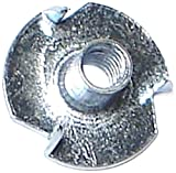 Hard-to-Find Fastener 014973322595 Pronged Tee Nuts, 10-24 x 9/32, Piece-16