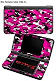Nintendo DSi XL Skin WraptorCamo Digital Hot Pink