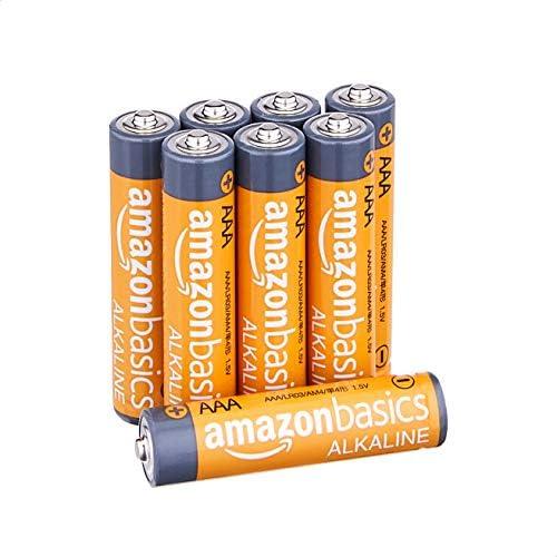 AmazonFundamentals AAA 1.5 Volt Performance Alkaline Batteries - Pack of 8
