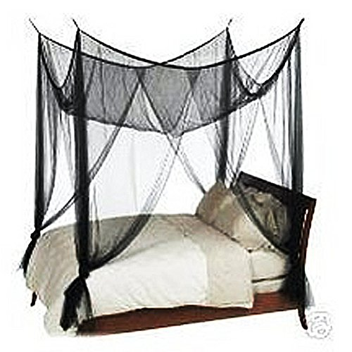 SODIAL(R) 4-Corner Bed Netting Canopy Mosquito Net, used for sale  Delivered anywhere in Canada
