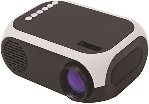 Mini proyector, proyector de película portátil LED, proyector de ...