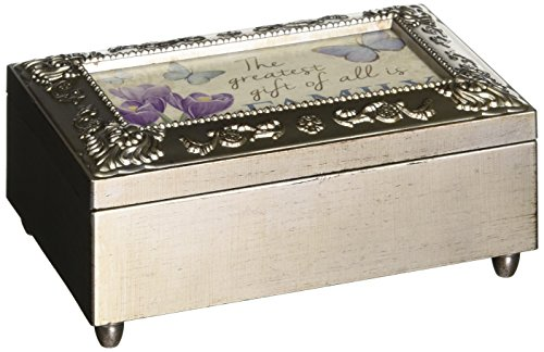 Box Trinket Musical - Carson Home Accents Gift of Family Music Box Plays My Favorite Things