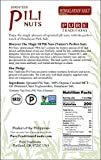 Wild Sprouted Pili Nuts, (5 oz Bag) with Himalayan