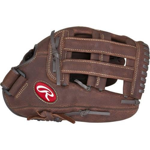 Rawlings Player Preferred Baseball Glove, Regular, Slow Pitch Pattern, Pro H Web, 13 inch -