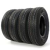 4x ST 225/75R15 Radial Trailer Tire 8 Ply D Load Range T/L Camper Tires 2257515 113/108 L