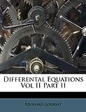 Differental Equations, Edouard Goursat, 1176114204