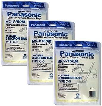 Replacement Vacuum Bag for Panasonic MC-V150M Vacuum Bag