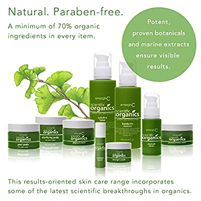 emerginC Scientific Organics - Natural Skin Care Trial/Travel Set (6 items)