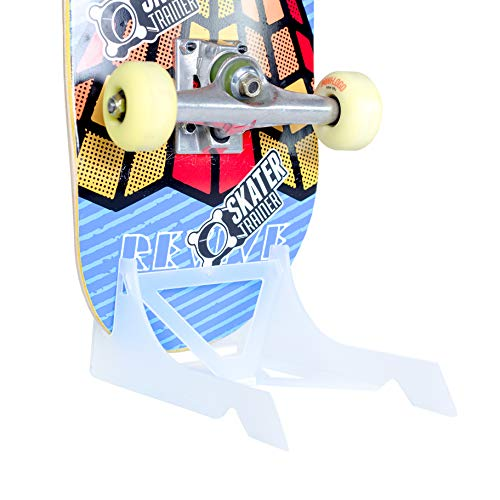 (A Place for Your Skateboard, Store or Display in Style with an Original Skateboard Stand | The Origami Skate Rack by Skater Trainers (Translucent))