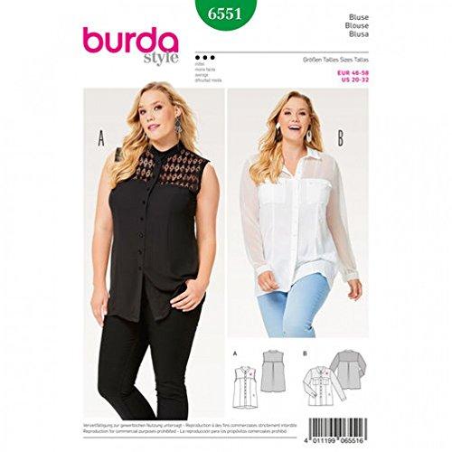 Ladies Blouse Patterns - 4
