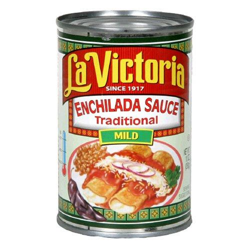 La Victoria Enchilada Sauce, Mild, 10-Ounce Cans (Pack of 12)