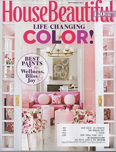 Download House Beautiful Magazine 2016 September - Life Changing Colors! ebook