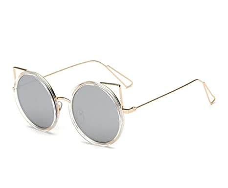 HONG Occhiali da sole scatola rotonda uv big box occhiali da sole e p5neTQOdme