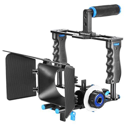 Neewer Aluminum Alloy Camera Movie Video Cage Kit Film Ma...