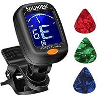 NIUBIER Guitar Tuner Digital Clip-on Tuner for Acoustic...