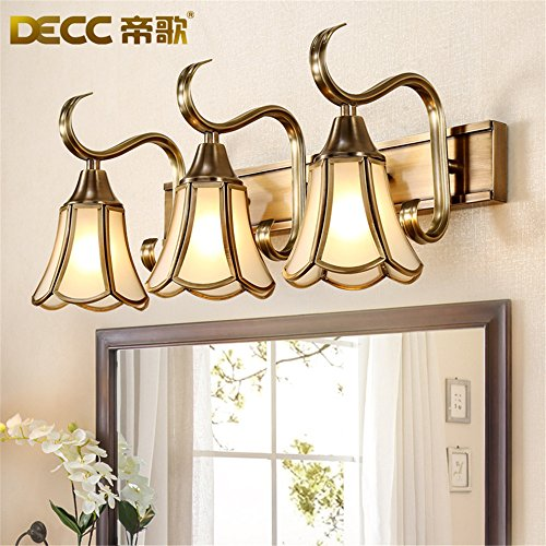Industrial Vintage Wall Sconces Royal Opera in Europe Mirror Front Lamps Bathroom -
