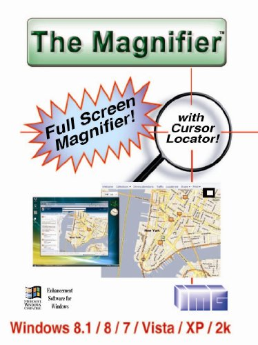 The Magnifier - Full Screen Software Magnifier [Download] by Innovation Management Group, Inc