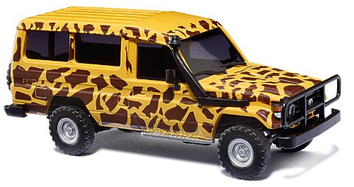 Amazon.com: 43508 Toyota Land Cruiser Safar HO Scale Model: Toys & Games