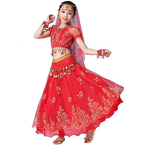 Costumes For Indian Folk Dances - Girls Belly Dance Dress Bollywood Indian